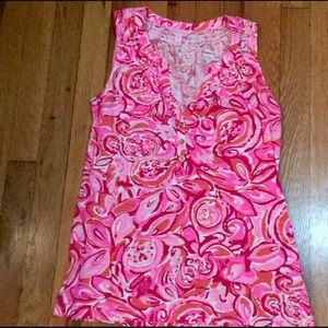 Lilly Pulitzer XS pink tank top